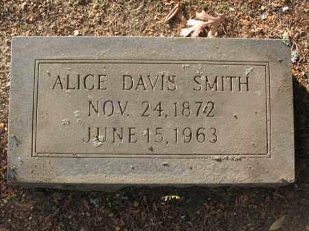 SMITH, ALICE - Hot Spring County, Arkansas | ALICE SMITH - Arkansas Gravestone Photos