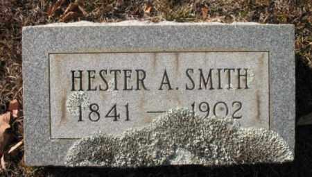 SMITH, HESTER A - Hot Spring County, Arkansas   HESTER A SMITH - Arkansas Gravestone Photos