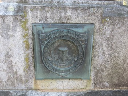 SMITH, JAMES F (CLOSE UP OF EMBLEM) - Hot Spring County, Arkansas | JAMES F (CLOSE UP OF EMBLEM) SMITH - Arkansas Gravestone Photos
