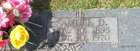 SMITH, SAMUEL D (CLOSE UP) - Hot Spring County, Arkansas | SAMUEL D (CLOSE UP) SMITH - Arkansas Gravestone Photos