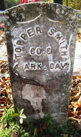 SMITH, TOPPER - Hot Spring County, Arkansas | TOPPER SMITH - Arkansas Gravestone Photos
