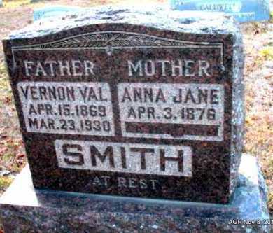 SMITH, VERNON VAL - Hot Spring County, Arkansas | VERNON VAL SMITH - Arkansas Gravestone Photos
