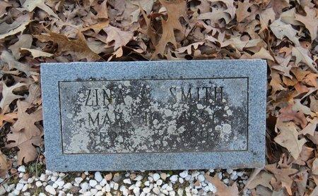 SMITH, ZINA A. - Hot Spring County, Arkansas | ZINA A. SMITH - Arkansas Gravestone Photos