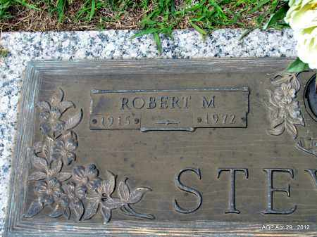 STEWART, ROBERT M (CLOSE UP) - Hot Spring County, Arkansas   ROBERT M (CLOSE UP) STEWART - Arkansas Gravestone Photos