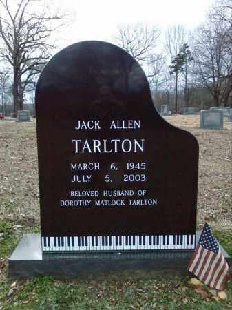 TARLTON, JACK ALLEN - Hot Spring County, Arkansas   JACK ALLEN TARLTON - Arkansas Gravestone Photos