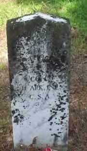 THORNTON II  (VETERAN CSA), NEEDHAM ANDERSON - Hot Spring County, Arkansas | NEEDHAM ANDERSON THORNTON II  (VETERAN CSA) - Arkansas Gravestone Photos