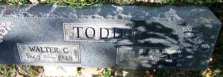TODD, DELLA E COTTEN - Hot Spring County, Arkansas   DELLA E COTTEN TODD - Arkansas Gravestone Photos
