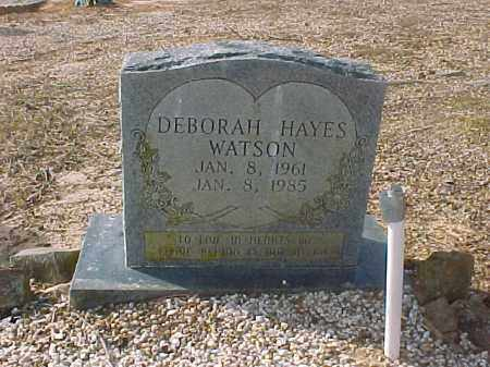 HAYES WATSON, DEBORAH - Hot Spring County, Arkansas | DEBORAH HAYES WATSON - Arkansas Gravestone Photos