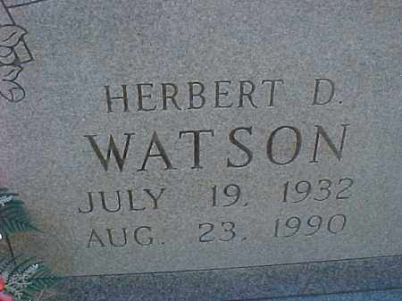 WATSON, HERBERT - Hot Spring County, Arkansas | HERBERT WATSON - Arkansas Gravestone Photos