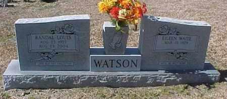 WATSON, EILEEN - Hot Spring County, Arkansas   EILEEN WATSON - Arkansas Gravestone Photos