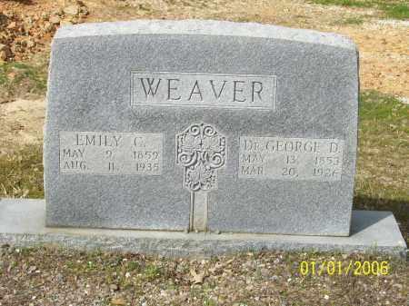 WEAVER, GEORGE DALLAS - Hot Spring County, Arkansas | GEORGE DALLAS WEAVER - Arkansas Gravestone Photos