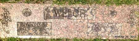 WELCH, EDWARD M - Hot Spring County, Arkansas | EDWARD M WELCH - Arkansas Gravestone Photos