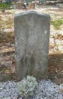 WHITE (VETERAN CSA), WILLIAM BENJAMIN - Hot Spring County, Arkansas | WILLIAM BENJAMIN WHITE (VETERAN CSA) - Arkansas Gravestone Photos