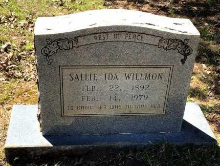 WILLMON, SALLIE IDA - Hot Spring County, Arkansas   SALLIE IDA WILLMON - Arkansas Gravestone Photos