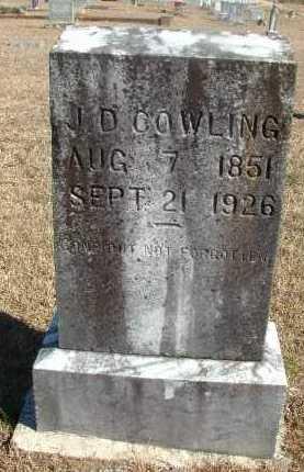 COWLING, II, JOHN DURHAM - Howard County, Arkansas | JOHN DURHAM COWLING, II - Arkansas Gravestone Photos