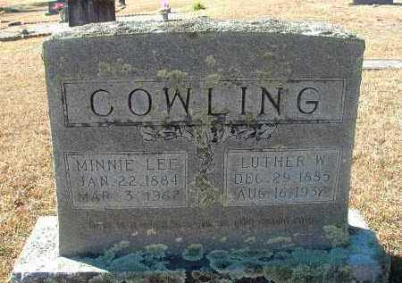 COWLING, LUTHER W - Howard County, Arkansas | LUTHER W COWLING - Arkansas Gravestone Photos