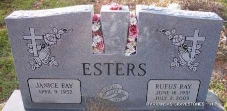 ESTERS, RUFUS RAY - Howard County, Arkansas | RUFUS RAY ESTERS - Arkansas Gravestone Photos
