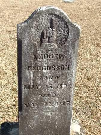 FERGUSSON, ANDREW - Howard County, Arkansas | ANDREW FERGUSSON - Arkansas Gravestone Photos