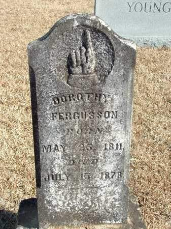 FERGUSSON, DOROTHY - Howard County, Arkansas | DOROTHY FERGUSSON - Arkansas Gravestone Photos