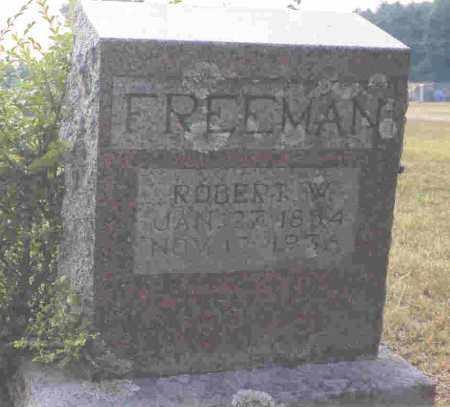 FREEMAN, ROBERT W. - Howard County, Arkansas   ROBERT W. FREEMAN - Arkansas Gravestone Photos