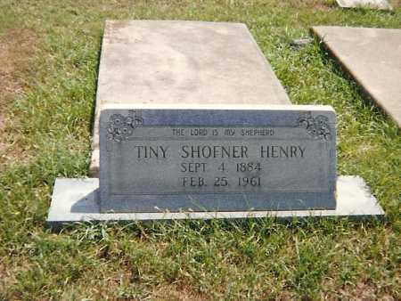 HENRY, TINY - Howard County, Arkansas | TINY HENRY - Arkansas Gravestone Photos