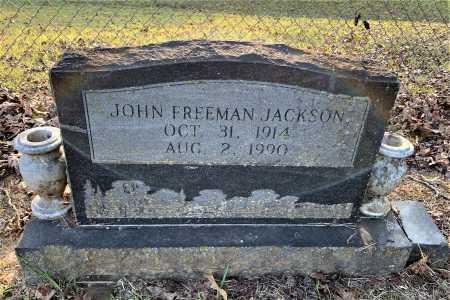 JACKSON, JOHN FREEMAN - Howard County, Arkansas | JOHN FREEMAN JACKSON - Arkansas Gravestone Photos