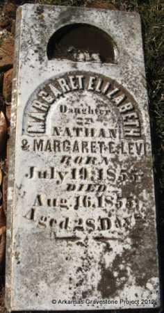 LEVI, MARGARET ELIZABETH - Howard County, Arkansas   MARGARET ELIZABETH LEVI - Arkansas Gravestone Photos