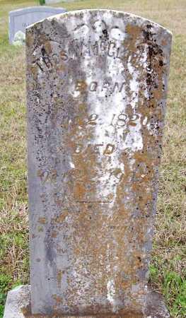 MCCLURE  (VETERAN CSA), THOMAS WILLIAM - Howard County, Arkansas   THOMAS WILLIAM MCCLURE  (VETERAN CSA) - Arkansas Gravestone Photos