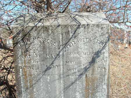 STONE MERRELL, ELIZABETH - Howard County, Arkansas | ELIZABETH STONE MERRELL - Arkansas Gravestone Photos