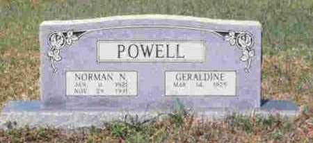 POWELL, NORMAN S - Howard County, Arkansas | NORMAN S POWELL - Arkansas Gravestone Photos