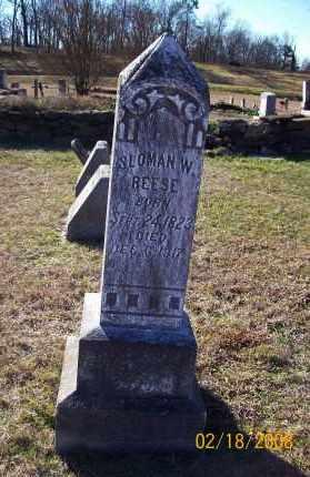 REESE  (VETERAN CSA), SLOMAN WESLEY - Howard County, Arkansas   SLOMAN WESLEY REESE  (VETERAN CSA) - Arkansas Gravestone Photos