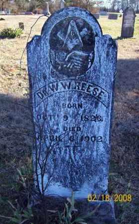 REESE  (VETERAN CSA), WILLIAM WILEY, DR - Howard County, Arkansas | WILLIAM WILEY, DR REESE  (VETERAN CSA) - Arkansas Gravestone Photos