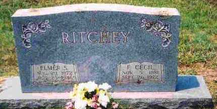 WELKER RITCHEY, FLOSSIE CECIL - Howard County, Arkansas | FLOSSIE CECIL WELKER RITCHEY - Arkansas Gravestone Photos