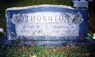 THORNTON, AMERICA - Howard County, Arkansas | AMERICA THORNTON - Arkansas Gravestone Photos