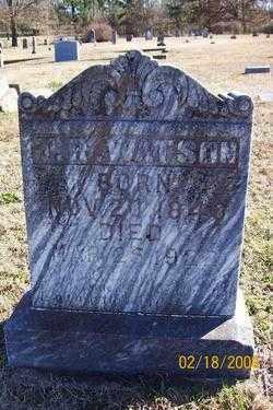 WATSON  (VETERAN CSA), THOMAS RIGHT - Howard County, Arkansas   THOMAS RIGHT WATSON  (VETERAN CSA) - Arkansas Gravestone Photos