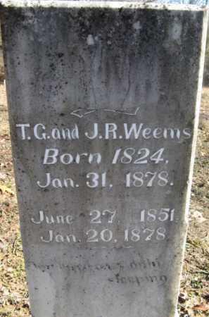WEEMS, T G - Howard County, Arkansas   T G WEEMS - Arkansas Gravestone Photos