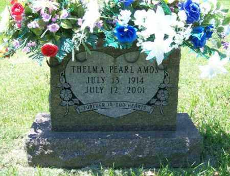 AMOS, THELMA PEARL - Independence County, Arkansas | THELMA PEARL AMOS - Arkansas Gravestone Photos