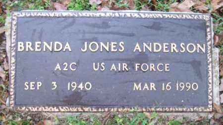 JONES ANDERSON  (VETERAN), BRENDA - Independence County, Arkansas | BRENDA JONES ANDERSON  (VETERAN) - Arkansas Gravestone Photos