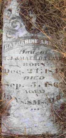 ARNOLD, CATHARINE - Independence County, Arkansas | CATHARINE ARNOLD - Arkansas Gravestone Photos