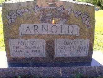 ARNOLD, LOUISE BRAY - Independence County, Arkansas | LOUISE BRAY ARNOLD - Arkansas Gravestone Photos