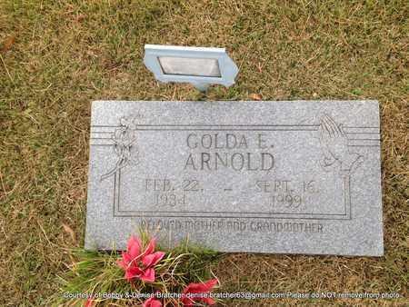 ARNOLD, GOLDA E - Independence County, Arkansas | GOLDA E ARNOLD - Arkansas Gravestone Photos