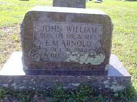 ARNOLD, JOHN WILLIAM - Independence County, Arkansas | JOHN WILLIAM ARNOLD - Arkansas Gravestone Photos