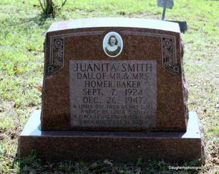 BAKER SMITH, JUANITA - Independence County, Arkansas | JUANITA BAKER SMITH - Arkansas Gravestone Photos