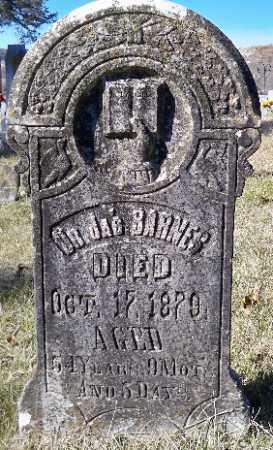 BARNES, DR JAMES - Independence County, Arkansas   DR JAMES BARNES - Arkansas Gravestone Photos