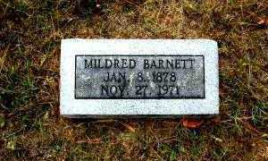 BARNETT, MILDRED - Independence County, Arkansas | MILDRED BARNETT - Arkansas Gravestone Photos