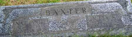 BAXTER, NATHANIEL - Independence County, Arkansas | NATHANIEL BAXTER - Arkansas Gravestone Photos