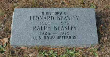 BEASLEY (VETERAN), RALPH - Independence County, Arkansas | RALPH BEASLEY (VETERAN) - Arkansas Gravestone Photos