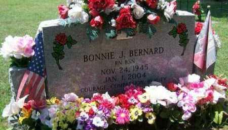 BERNARD, BONNIE J. - Independence County, Arkansas | BONNIE J. BERNARD - Arkansas Gravestone Photos