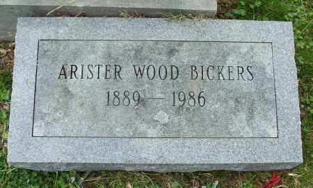 BICKERS, ARISTER WOOD - Independence County, Arkansas   ARISTER WOOD BICKERS - Arkansas Gravestone Photos