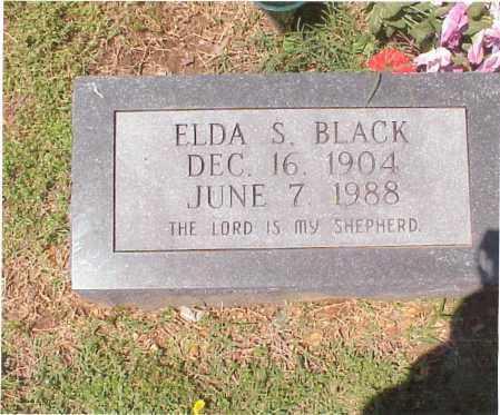 BLACK, ELDA SELENA - Independence County, Arkansas | ELDA SELENA BLACK - Arkansas Gravestone Photos